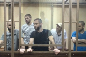 """Фігурантів """"першої сімферопольської групи"""" етапували у колонії Башкортостану"""