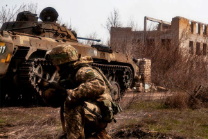 Invaders launch four attacks on Joint Forces positions in Donbas. Two soldiers wounded