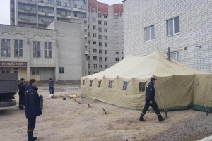 В Україні запрацювали тимчасові пункти скринінгу