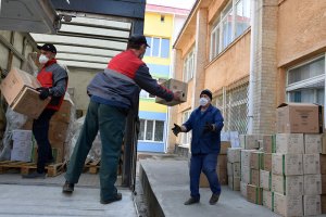 У Сумську область прибув гуманітарний вантаж із Китаю