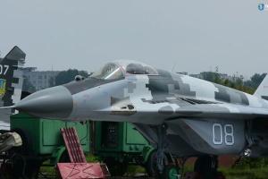 Українським військовим передали модернізований винищувач МіГ-29