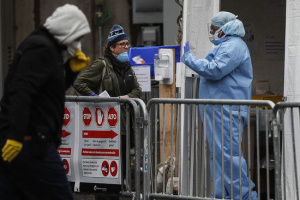 У штаті Нью-Йорк кількість інфікованих Covid-19 перевищила 100 тисяч