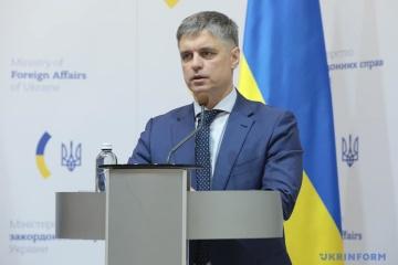 Prystaiko anuncia sobre un contrato de armas letales con Reino Unido