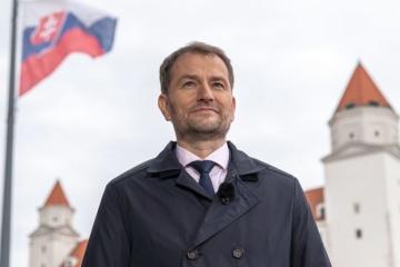 """""""Slowakei ist ein Freund der Ukraine"""": Ministerpräsident Matovič entschuldigt für missglückten Scherz über Transkarpatien"""
