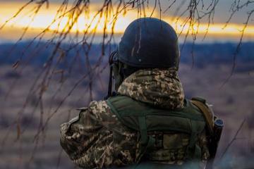 Donbass: Besatzer schießen weiter mit verbotenen Mörsern