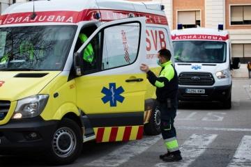 В Іспанії від коронавірусу померли понад 15 тисяч осіб