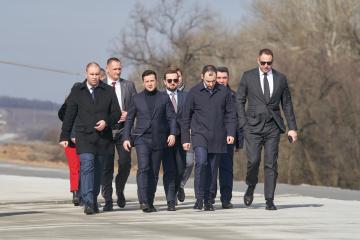 Volodymyr Zelensky s'est rendu dans la région de Poltava