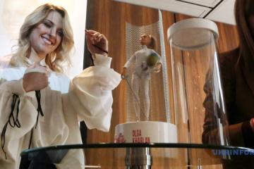 Olga Kharlan a eu une poupée Barbie à son effigie