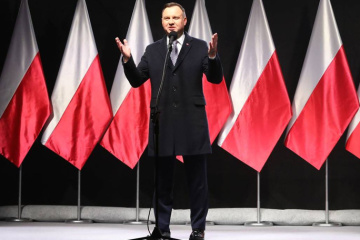 Andrzej Duda - Polska nigdy nie zgodzi się na zmianę granic przez Rosję siłą