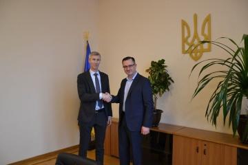 Le nouveau ministre des Finances de l'Ukraine s'est entretenu avec le représentant du FMI