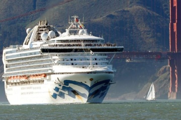 Two Ukrainians from Grand Princess return home