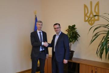 Premierminister Schmygal telefoniert mit IWF-Mission