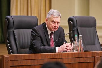 Taran discusses defense reform with U.S. strategic advisor