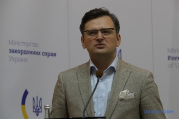 Ukraine's FM outlines condition for starting dialogue with Belarusian opposition