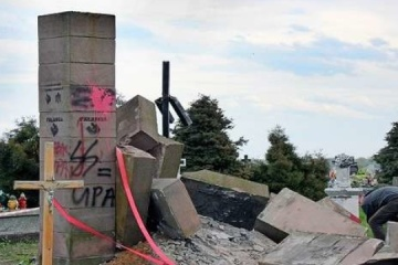 Niszczenie ukraińskich miejsc pamięci w Polsce ma charakter hybrydowy - prezes Związku Ukraińców w Polsce