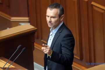 Swjatoslaw Wakartschuk legt Parlamentsmandat nieder