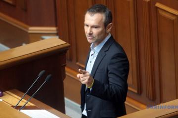声党ヴァカルチューク氏、最高会議議員の辞職を発表
