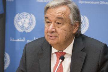 António Guterres, appelle à la responsabilité et à la solidarité face au coronavirus