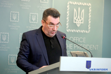 Danilov hopes ceasefire in Donbas will be a step towards end of war