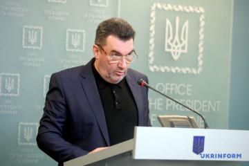 RNBO-Sekretär Olexij Danilow kündigt Sanktionen gegen Parlamentsabgeordnete an
