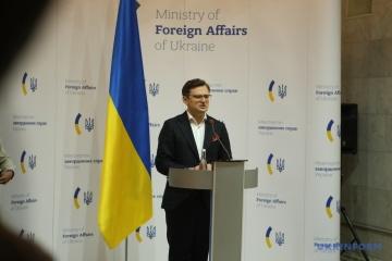 Kuleba acuerda sobre el apoyo a Ucrania durante la presidencia de Estonia del Consejo de Seguridad de la ONU