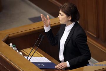 La Verkhovna Rada a nommé Iryna Venediktova au poste de Procureur général