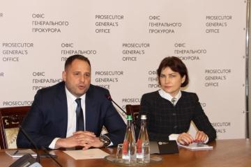 Jermak przedstawił Wenediktową w Biurze Prokuratora Generalnego