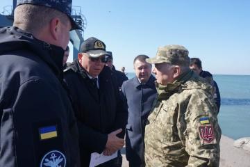 Armada ucraniana construirá base militar en Berdiansk