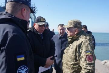 Ukrainian Navy to build military base in Berdyansk
