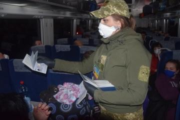 Z Polski pociągami przywieziono już 1150 Ukraińców