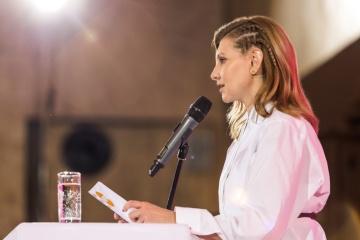"""Олена Зеленська взяла участь у соціальній кампанії МОЗ """"Підтримую лікарів"""""""
