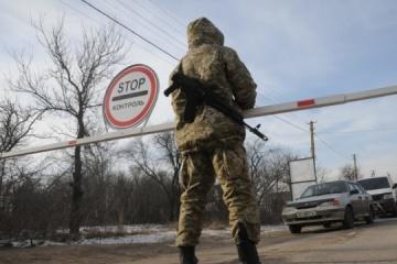 W Donbasie zamknięto przejście przez linię rozgraniczającą