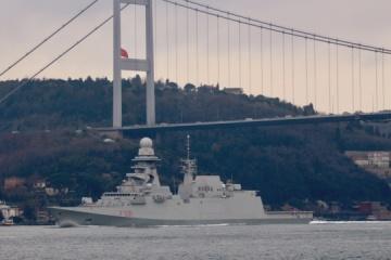 Three NATO ships enter Black Sea