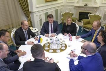 PM Shmyhal, UK's ambassador discuss Covid-19 situation