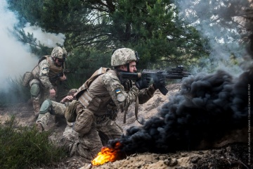 Invaders fire banned mortars in Donbas, one Ukrainian soldier killed