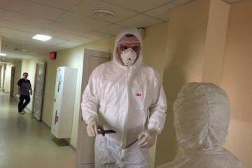 Gerüchte über VIP-Krankenzimmer: Klitschko besucht Infektionsabteilung von Olexandriwska-Krankenhaus