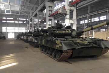 Las Fuerzas Armadas de Ucrania reciben tanques T-80 modernizados