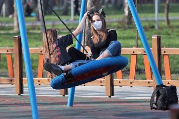 ウクライナ全国の防疫措置期間の様子 写真ルポ