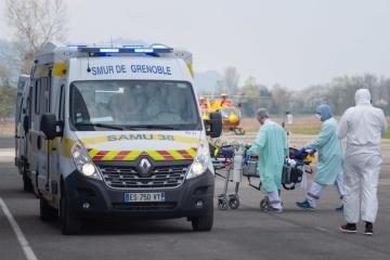 У Франції з початку пандемії - найменше летальних випадків за добу