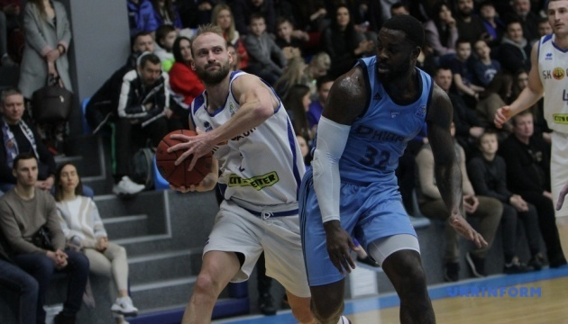 Суперліга: «Дніпро» і «Київ-Баскет» здобули перемоги