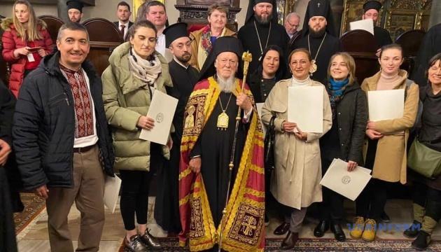 Українці Туреччини привітали Патріарха Варфоломія з ювілеєм