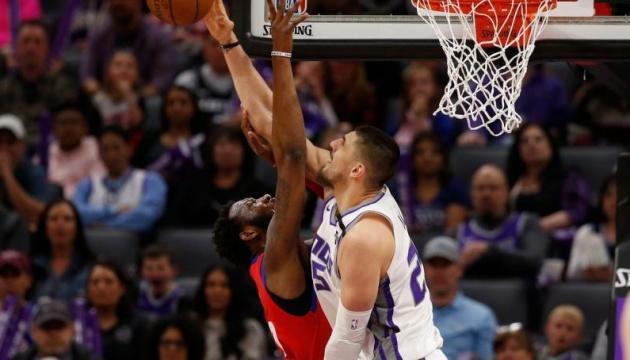 """Лень і Михайлюк зійшлися в матчі НБА """"Сакраменто"""" - """"Детройт"""""""