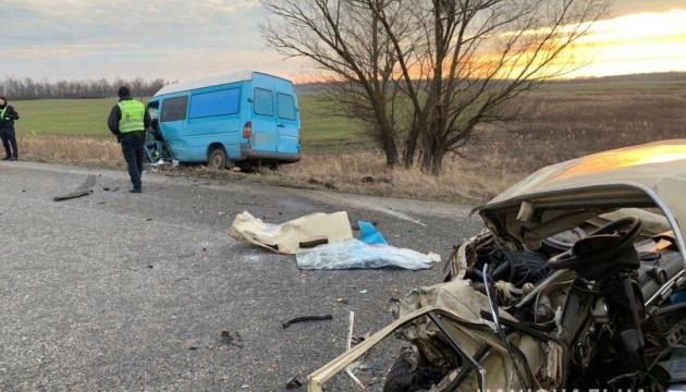Потрійна ДТП на трасі Харків - Дніпро: один загиблий, четверо постраждалих
