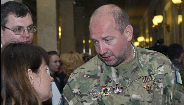 Konsul ukraiński przyjechał do zatrzymanego byłego dowódcy Ajdaru