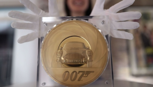 На честь нового фільму про Бонда випустили 7-кілограмову золоту монету
