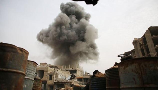 Бомбардувальники РФ атакували позиції повстанців у Сирії — ЗМІ