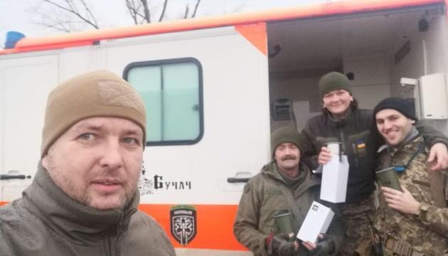 Спілка української молоді придбала й передала обладнання та медикаменти українським бійцям