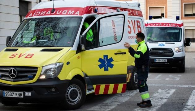 В Іспанії за добу від коронавірусу померли ще понад 500 осіб