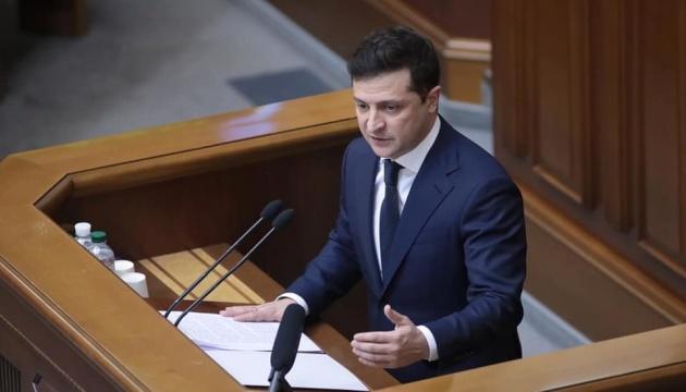 ゼレンシキー大統領、内閣改造につき、「成果が少ない。新しい頭脳と心が必要」