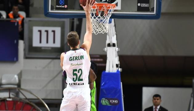 Український баскетболіст Герун увійшов до ТОП-10 найкращих новачків Єврокубка
